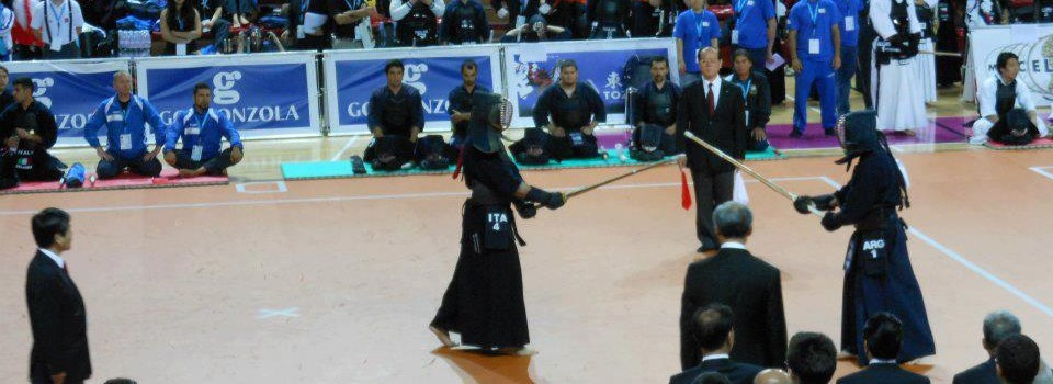 15º World Kendo Championship, Novara 2012