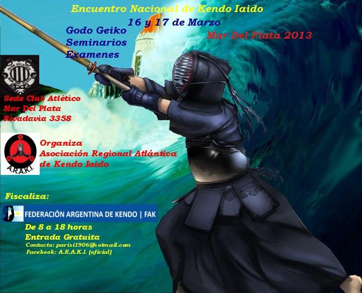 Afiche Oficial, Mar del Plata 2013