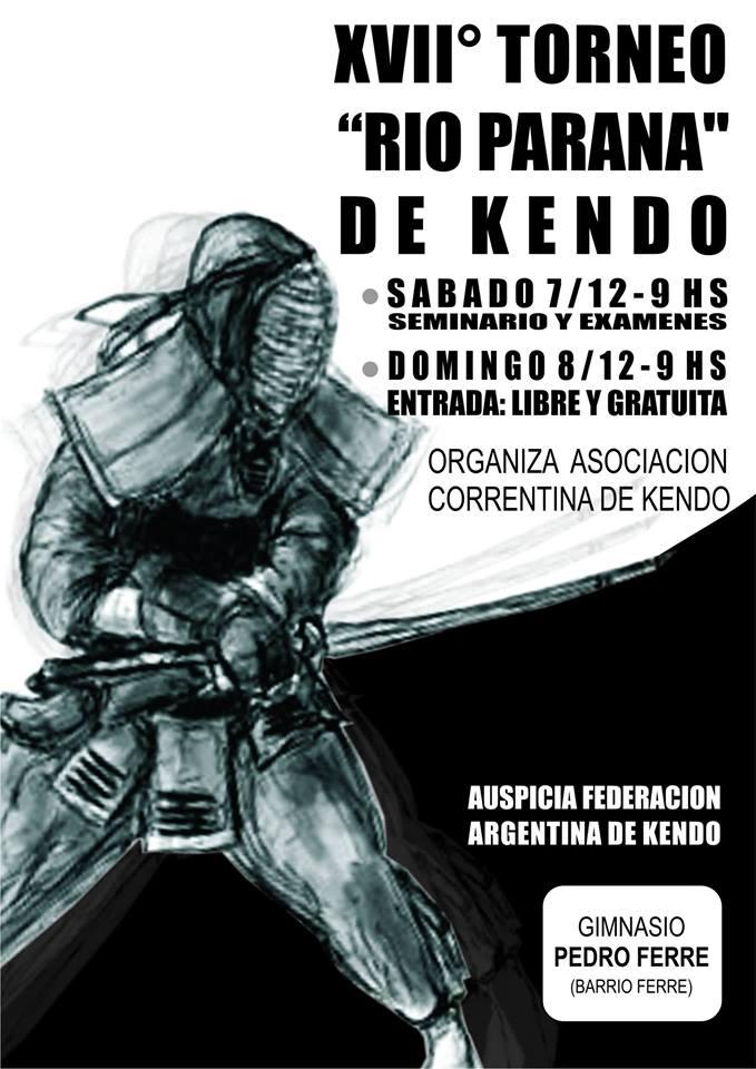 Afiche Oficial XVII Torneo Río Paraná