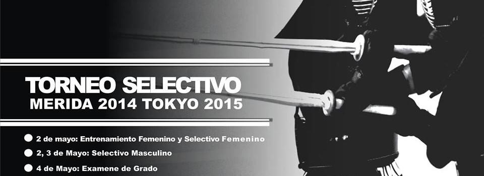 Torneo Selectivo de Kendo 2014