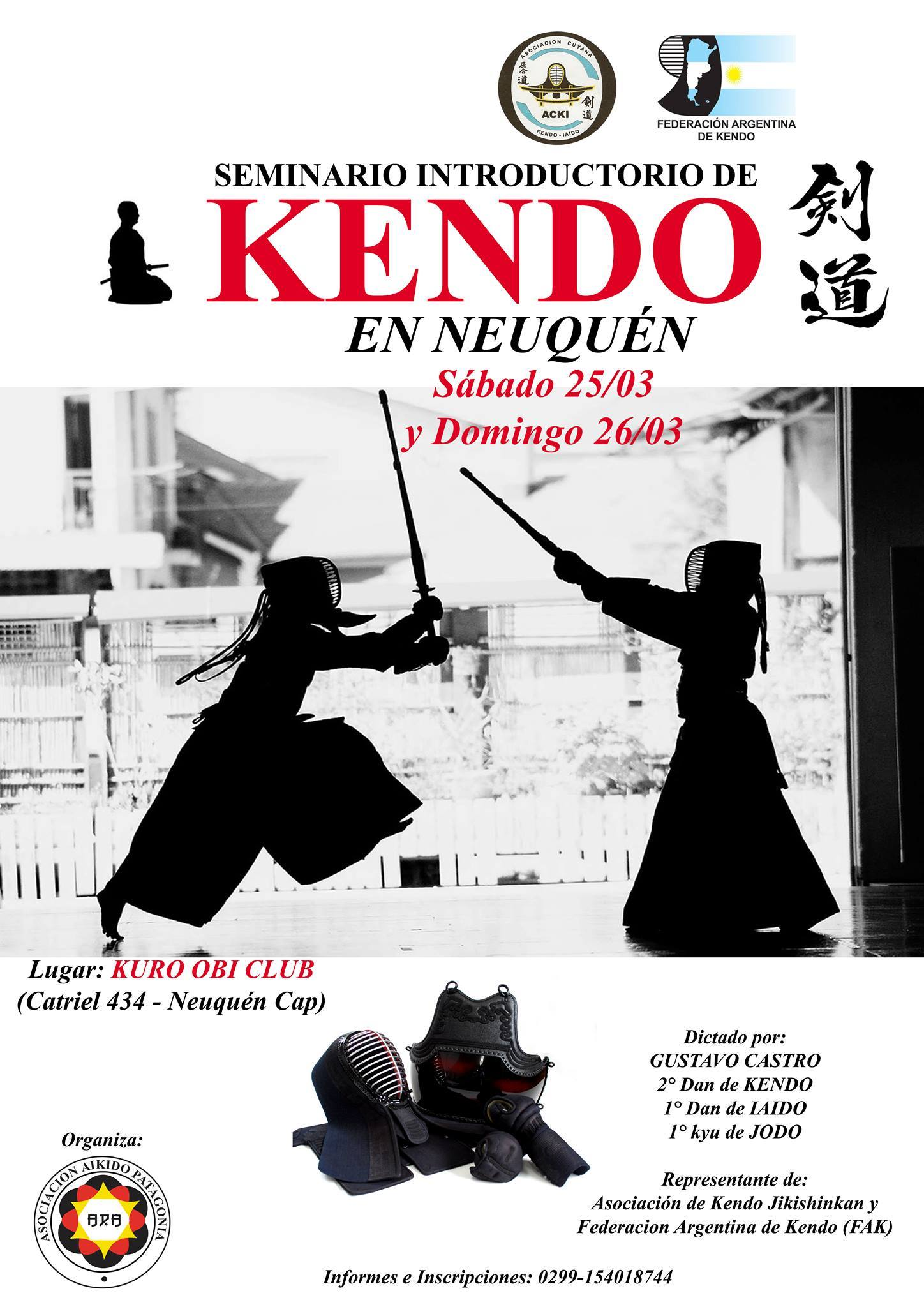 1º Seminario Introductorio de Kendo